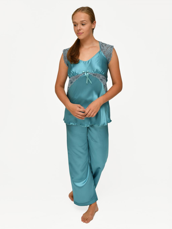866232e3524 Vanessa   Valeria - dámské pyžamo Follia satén    noční prádlo ...