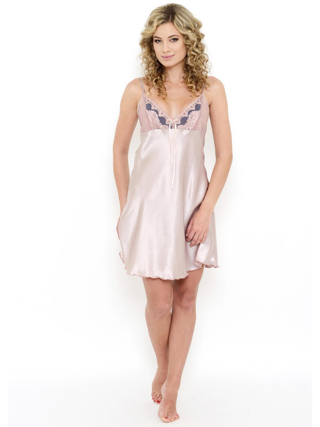 Mabel - noční košilka Follia satén    noční prádlo    dámské noční ... 4c612ffb12